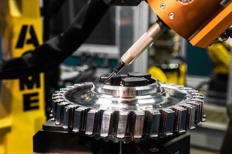 Acme Robotic Deburring of an Aerospace Disk